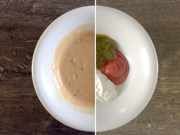 Einmalig leckere und simple Burger-Sauce